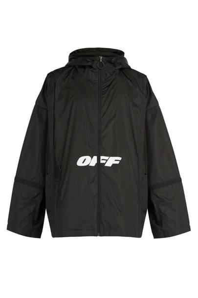 Wing Off logo-print windbreaker jacket by Off-White