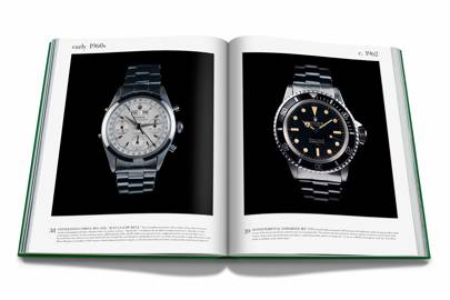 Oyster Perpetual Submariner, ref. 5512 (above, right)