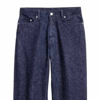 H&M wide-leg denim jeans