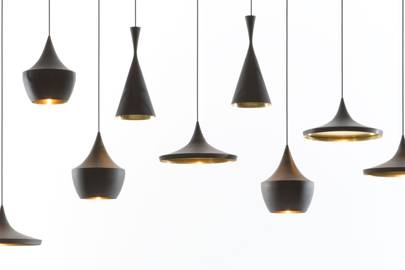 Lamp shades by Tom Dixon