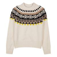 Maison Margiela Fairisland argyle-knit wool jumper