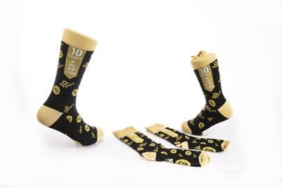Limited Edition Bitcoin Socks by Kimchi Socks