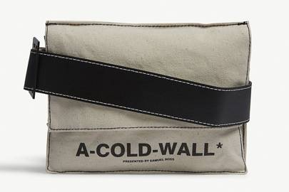 Logo canvas utility holster bag by A-Cold-Wall*