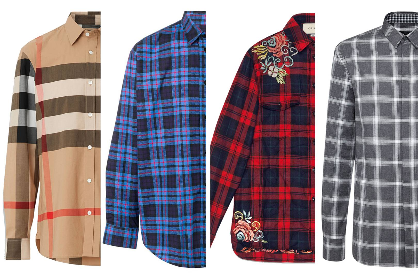 7413d45d5 The checked shirt is this seasons must have