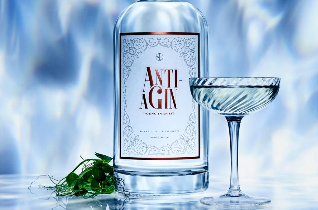 Anti Ageing Gin Targets Older Demographic