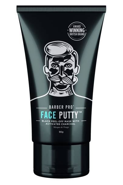 Face Putty Black Peel-Off Mask With Activated Charcoal by Barber Pro