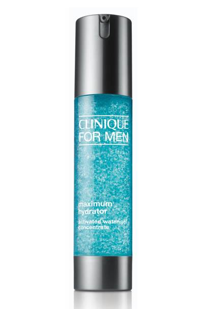 Maximum Hydrator Activated Water-Gel by Clinique For Men, £34. clinique.co.uk