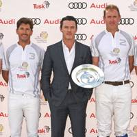 The Duke of Cambridge, Nic Roldan, Luke Evans, Tom Morley & Prince Harry