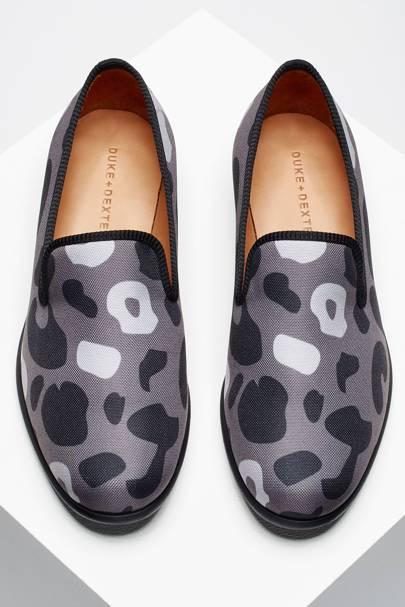 Duke + Dexter 'Stealth Leopard' slippers