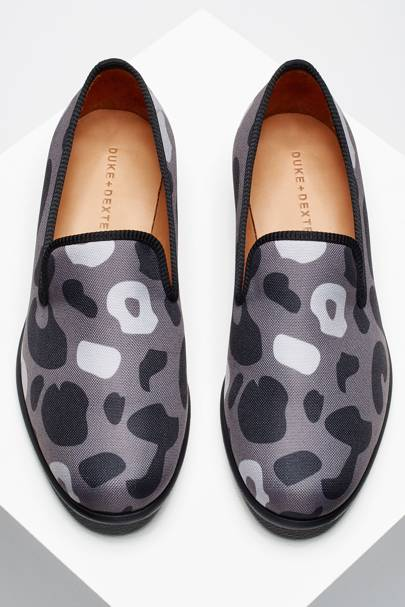 Duke + Dexter 'Stealth Leopard' slippers