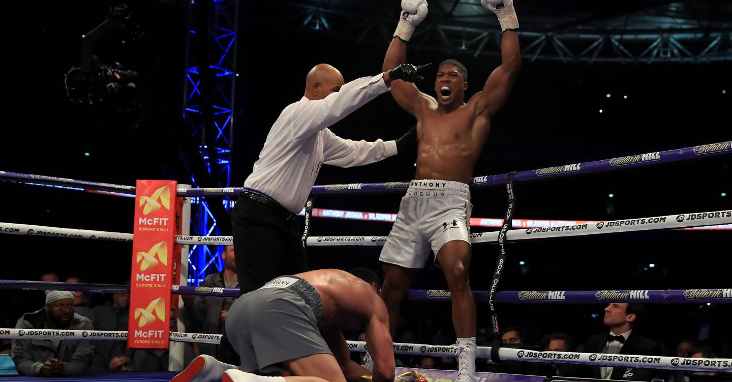 50ee0ef9365 Anthony Joshua comes of age