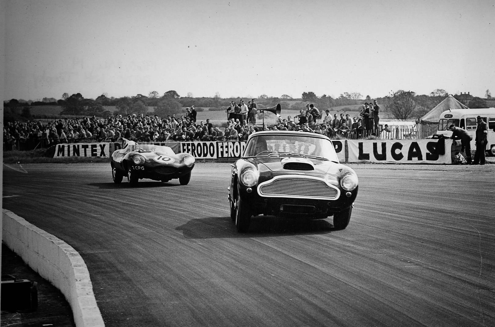 Aston Martin DB GTs Are Being Built Again British GQ - Aston martin vintage