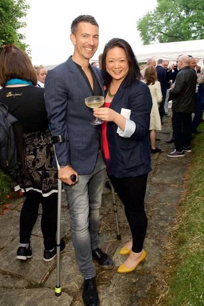 Adam Barriball and Natalie Chak