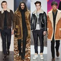 Shearling with everything