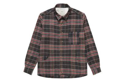 Percival checked outershirt