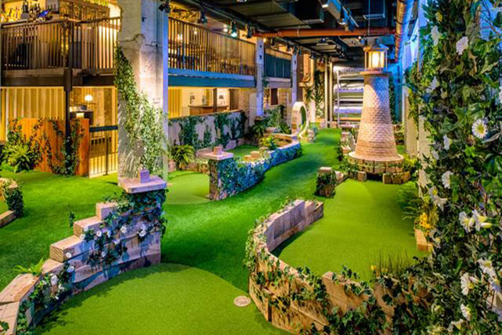 Ping Pong Board Game Beer And Crazy Golf Bars British Gq Huzaah You Now Have A Backyard With Super Cool Party Vibes