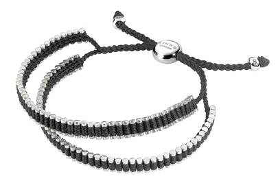 Double-wrap friendship bracelet by Links Of London