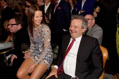 Claudia Lambeth and Mark Hix