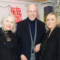 Justine Simons, Dylan Jones and Jane Boardman