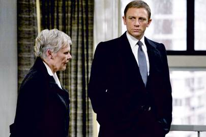 Image result for daniel craig judi dench