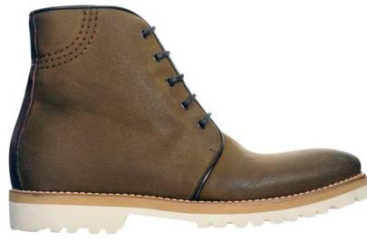 Khaki Boots by Kurt Geiger