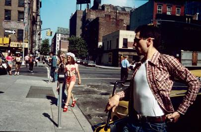 Jodie Foster Crossing the Street, from Taxi Driver, New York, 1975