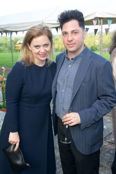 Lara Mingay and Feras al Chalabi
