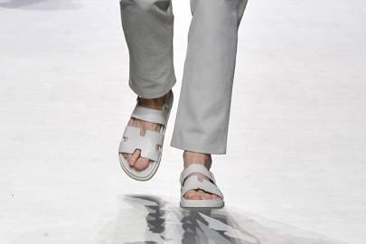 Clumpy sandals a go-go