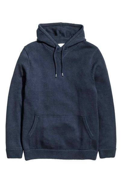 H&M knitted hoodie