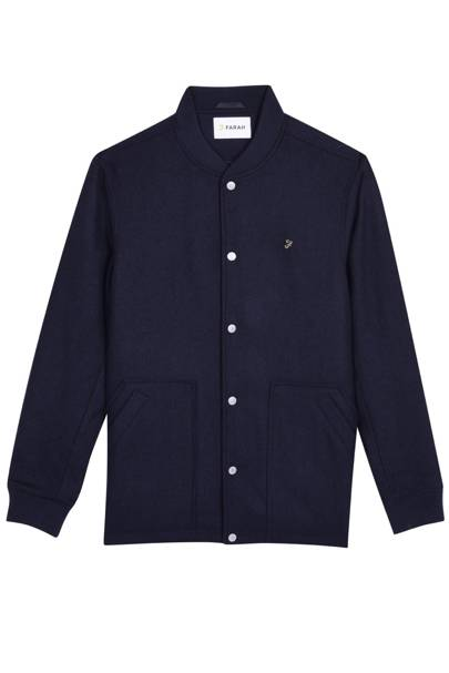 Farah 'Charecroft' button-down bomber jacket