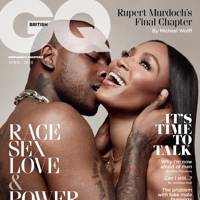April 2018 - Skepta and Naomi Campbell appear on the cover together