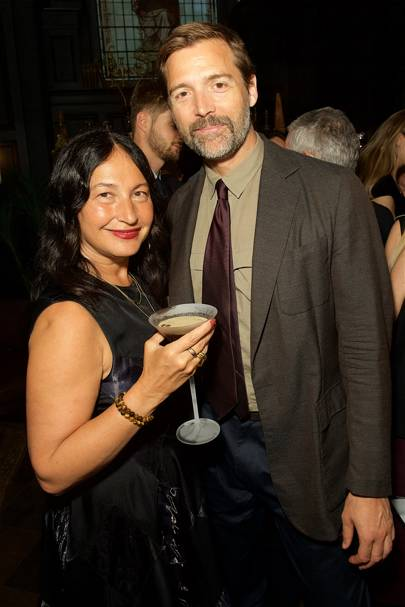 Sara Blonstein  and Patrick Grant