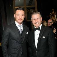 Luke Evans and Jeremy Hackett