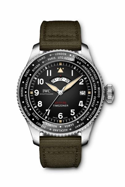 IWC Pilot's Watch Timezoner Spitfire Edition