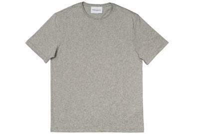 Grey round neck t-shirt by Modern Essentials