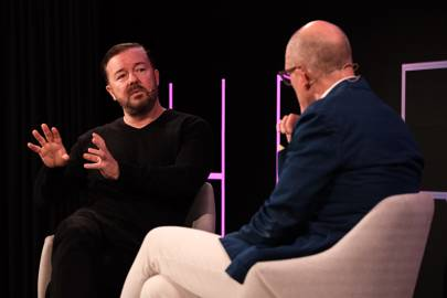 Ricky Gervais in conversation with Dylan Jones