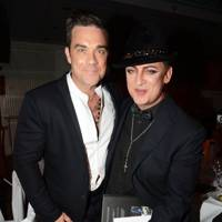 Robbie Williams and Boy George