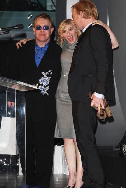 2007: Madonna and Sir Elton