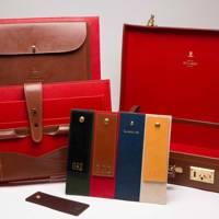 Ettinger bespoke briefcase