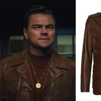 7. If in doubt, buy a brown leather jacket