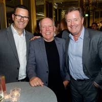 Ken McConomy, Ian Callum and Piers Morgan