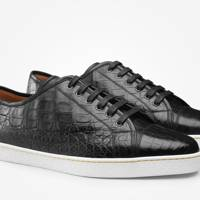 John Lobb precious leather Levah trainers