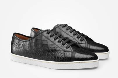 John Lobb precious leather Levah trainers