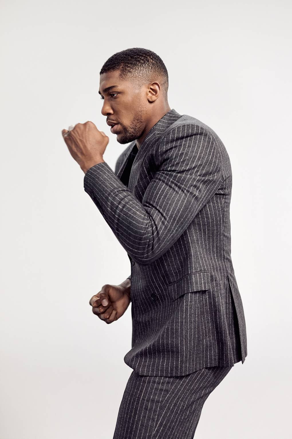 9e0095f50 Exclusive: Anthony Joshua is the new face of Hugo Boss' Stretch Tailoring  line | British GQ