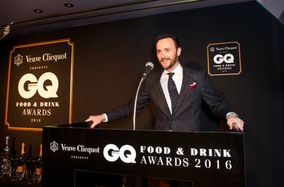 Jason Atherton on stage