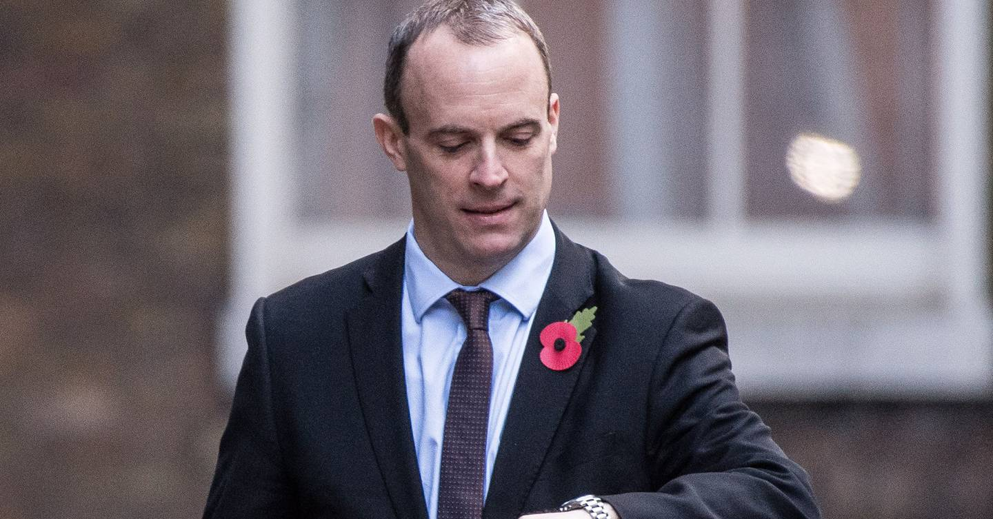 Dominic Raab is apathy personified. The rest of the cabinet isn't much better.