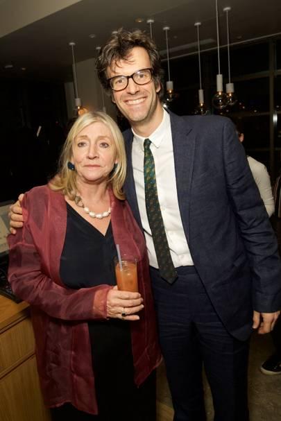 Rosie Boycott and Marcus Brigstocke
