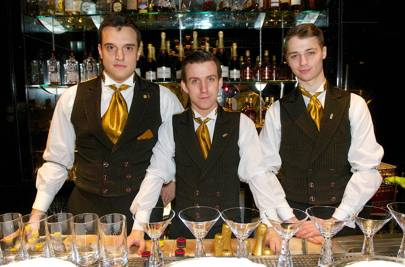 The Savoy's Beaufort Bar staff