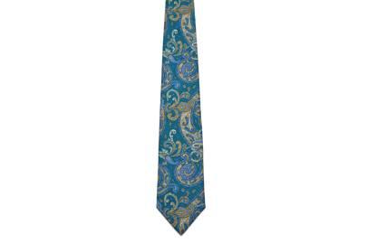1081 Silk Printed Tie by The Silk Tie Company