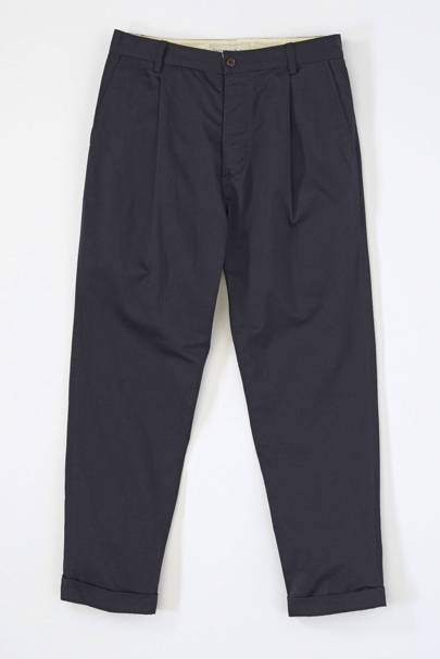 Universal Works pleat trousers